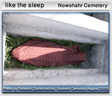 Like the sleep - nowshahr cemetery